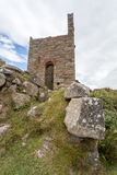 Botallack Tin mines in Cornwall Uk England Stock Photography