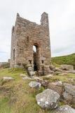 Botallack Tin mines in Cornwall Uk England Royalty Free Stock Photos