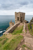 Botallack Tin mines in Cornwall Uk England Royalty Free Stock Photos