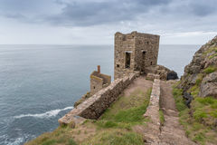 Botallack Tin mines in Cornwall Uk England Stock Photo