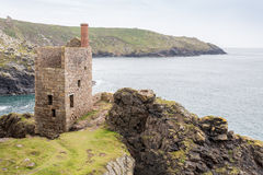 Botallack Tin mines in Cornwall Uk England Stock Image