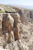 Botan dal, Siirt, sydöstliga Anatolien kalkon arkivfoto