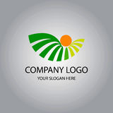 Botani logo Royalty Free Stock Image