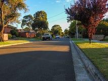 Botanic Drive street Royalty Free Stock Image