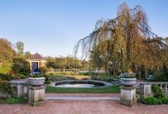 Botanic garden of Chicago royalty free stock photo