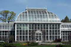 Botanic garden in Helsinki. Botanic garden pavillion  in Helsinki Finland Stock Photo