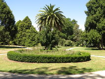 Botanic garden landscape Royalty Free Stock Photography