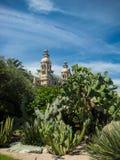 Botanic garden in Monte Carlo Royalty Free Stock Image