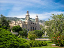 Botanic garden in Monte Carlo Stock Photos