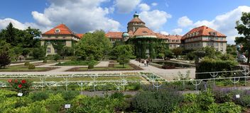 Botanic garden Munich. Germany Bavaria royalty free stock images