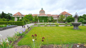 Botanic Garden in Munich Royalty Free Stock Photo