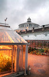 Botanic gardens stock image