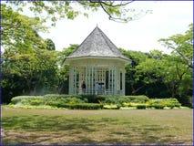 botanic gardens - band stand royalty free stock photo