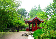 Botanic gardens in Edinburgh Stock Image