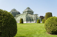 Botanic Gardens at Schoenbrunn Palace, Vienna, Austria Royalty Free Stock Images