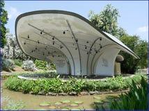 botanic gardens - symphony stage stock photography
