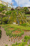 Botanic gardens Ventnor Isle of Wight south coast of the island tourist town Stock Images