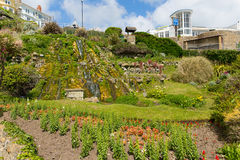 Botanic gardens Ventnor Isle of Wight south coast of the island tourist town Stock Image
