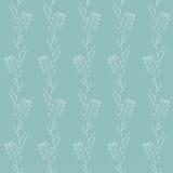 Botanic seamless texture Stock Image