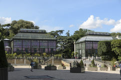 Botanica al museo nazionale di storia naturale Fotografia Stock