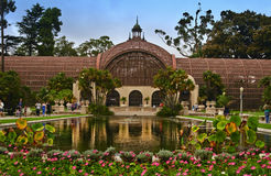 Botanical Building, Balboa Park Stock Photo