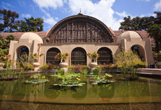 Botanical Building in Balboa Park in San Diego Stock Photo