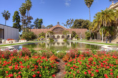 Botanical building in Balboa park. San Diego Royalty Free Stock Images