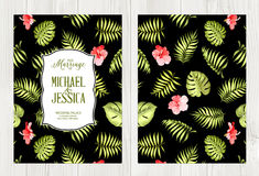 Botanical cover design. Royalty Free Stock Images