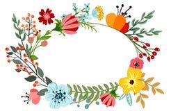 Botanical floral bouquet Stock Photos