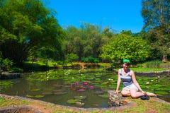 In Botanical Garden Stock Photo