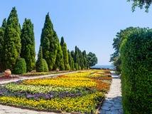 Botanical Garden in Balchik. Bulgaria Stock Photography