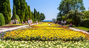 Botanical Garden in Balchik. Bulgaria Royalty Free Stock Photography