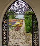 Landmark attraction in Bulgaria. Botanical Garden from Balchik Royalty Free Stock Photography