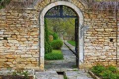 Landmark attraction in Bulgaria. Botanical Garden from Balchik Royalty Free Stock Images