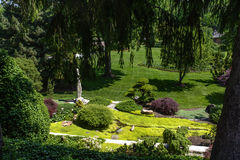 Botanical Garden Royalty Free Stock Photo