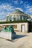 Botanical garden in Brussels. Botanical garden greenhouse, Brussels. Belgium Stock Image