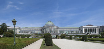 Botanical Garden of Brussels Royalty Free Stock Photography