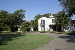 Botanical garden in city Dallas. Dallas Arboretum exterior, TX USA Stock Photography