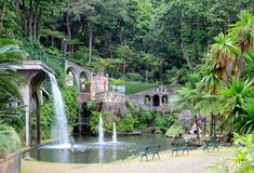 Botanical Garden. In Funchal. Island Madeira stock photo
