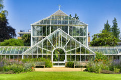 Botanical garden, Greenhouse Stock Image