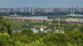 Botanical garden in Kyiv stock video footage