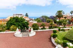Botanical garden in La Orotava town, Tenerife Stock Photography