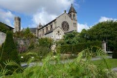 Botanical garden in Limoges, France Stock Photos