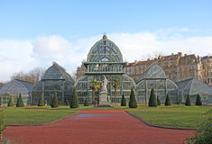 Botanical garden in Park of the Golden Head in Lyon, France Stock Photography