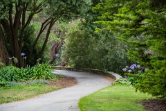 Botanical Garden Path Royalty Free Stock Photography