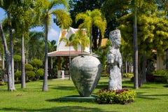 Botanical garden. Thailand. Royalty Free Stock Photos