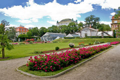Botanical garden in Town of Zagreb Royalty Free Stock Images
