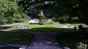 Botanical garden in Visby Gotland (sweden) Royalty Free Stock Images