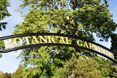 Botanical Gardens Stock Image