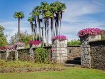 Botanical Gardens Villa Taranto Italy Stock Photo
